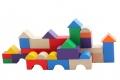 Cubes de construction multicolores (20 mm)