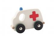 Grande ambulance en bois