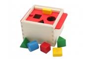 Boîte à formes en bois Selecta