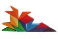 Grand puzzle créatif Etoile - Jouets en bois Grimm's