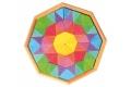 Puzzle créatif Octagon - Puzzle original en bois - Fabriqué en Europe