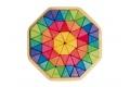 Grand puzzle créatif Octagon - Puzzle en bois Grimm's