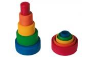 Boîtes gigognes rondes multicolores - Bols à emboîter Grimm's