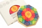 Grand puzzle créatif Octagon - Jouet Grimm's