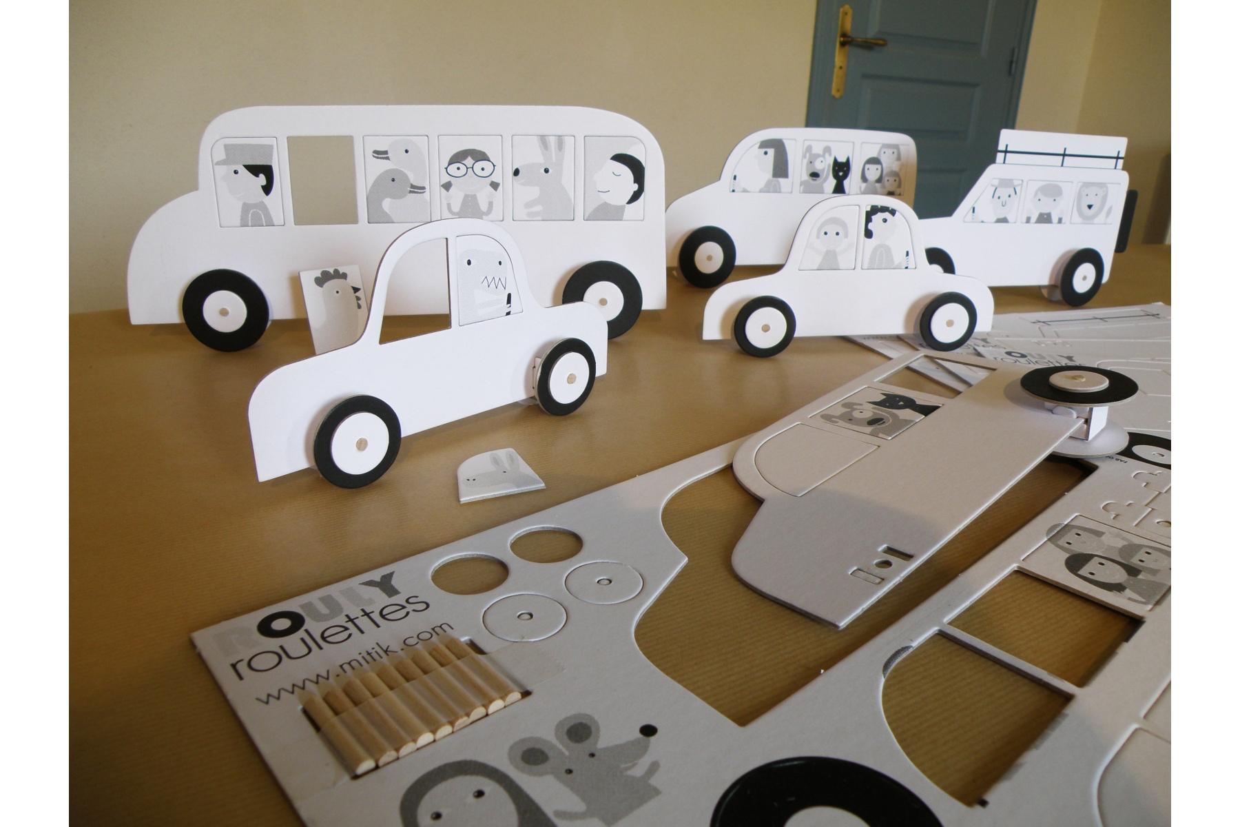 Kit voiture en carton