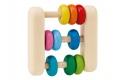 Hochet Abacus Selecta - Hochet en bois FSC