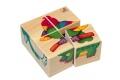 Puzzle cubes Bébés animaux - Selecta