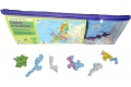 Puzzle en bois Carte d'Europe 50 pcs