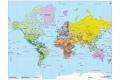 Puzzle en bois Carte du monde 50 pièces - Made in France