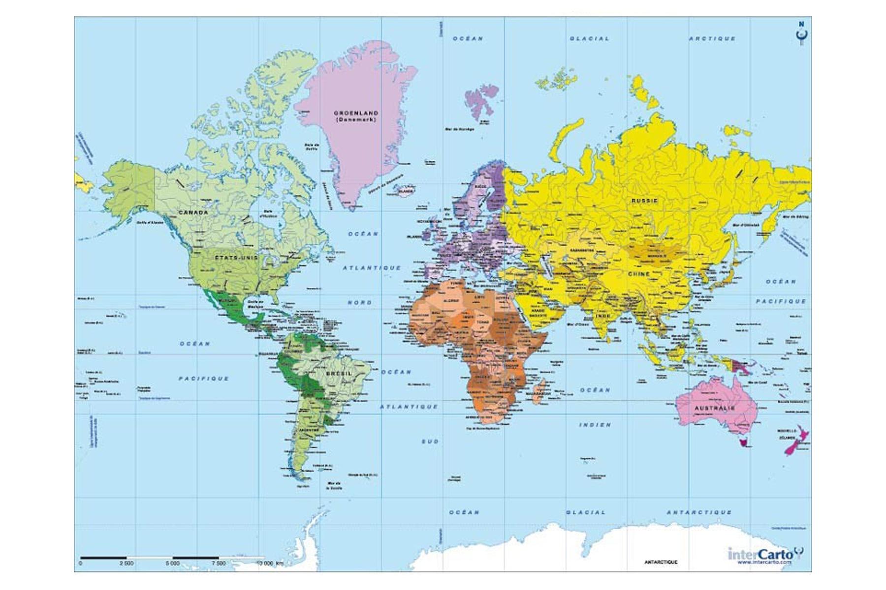 Jouets > Mandalas et Puzzles en bois > Puzzle en bois Carte du monde ~ Le Monde Du Jouet En Bois