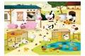 Puzzle en bois La Ferme - Puzzle 12 pièces - Made in France