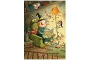 Puzzle en bois Gorbine et Monstrocalm - Puzzle 24 pièces