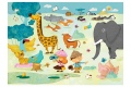 Puzzle en bois Safari Photo - Puzzle Michèle Wilson - 24 pièces