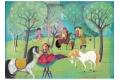 Puzzle en bois Jour de repos - Puzzle 100 pièces - Michèle Wilson