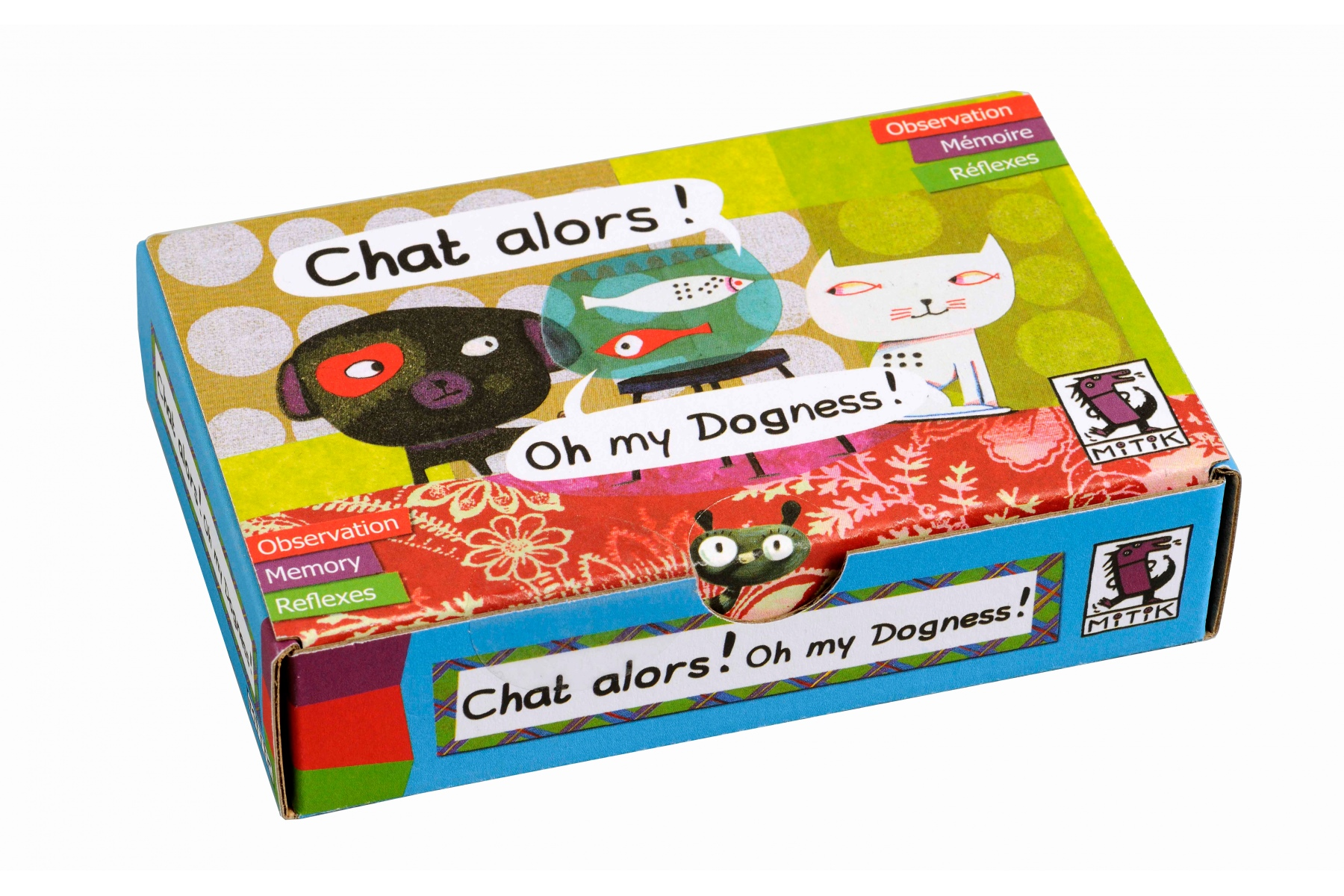 jeu de cartes chat alors jeu de cartes mitik made in france. Black Bedroom Furniture Sets. Home Design Ideas