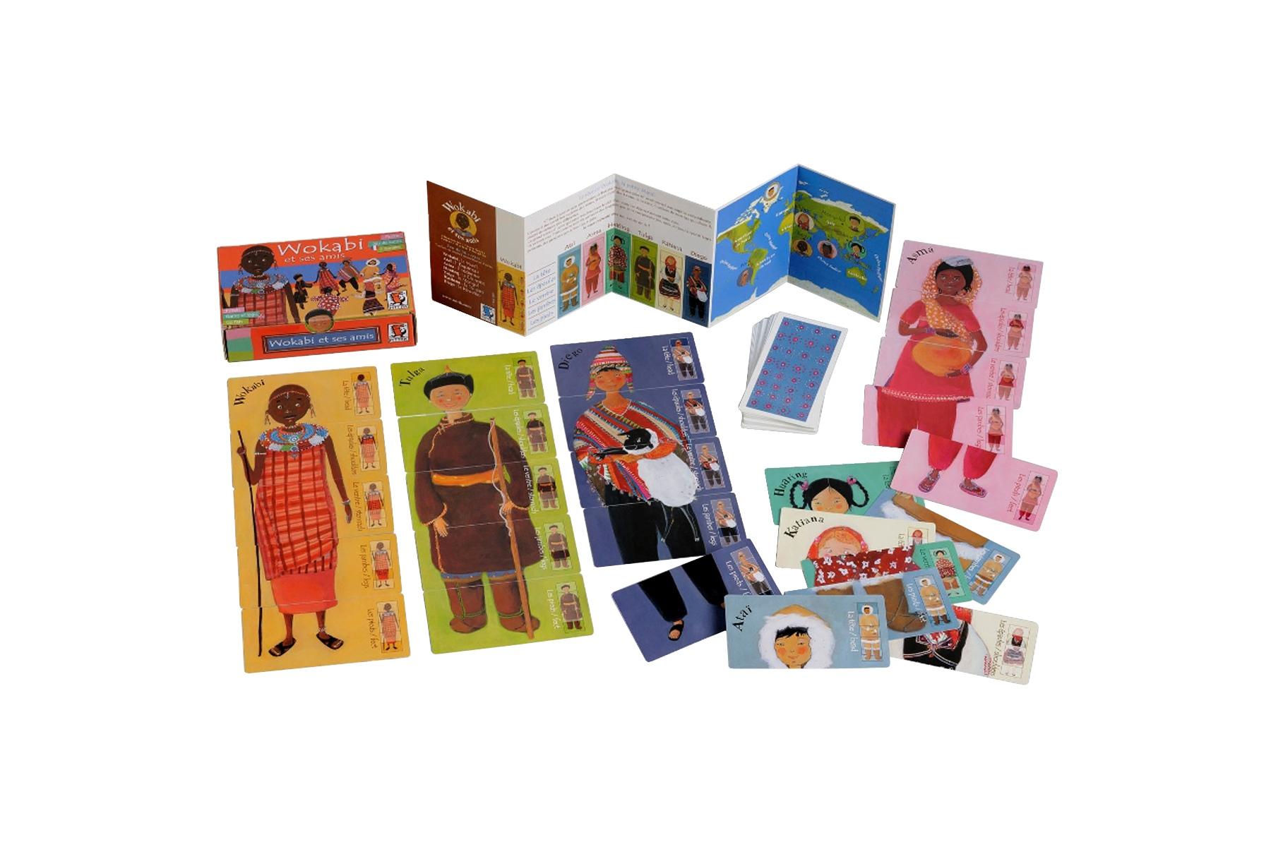 jeu de cartes wokabi et ses amis jeu de cartes mitik. Black Bedroom Furniture Sets. Home Design Ideas