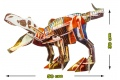 Jeu de construction Ecokit : Tyrannosaurus - Construction 3D