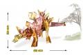 Jeu de construction Ecokit : Stegosaure - Construction 3D Dinosaures