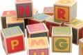 Cubes Lettres en bois - 96 lettres en bois