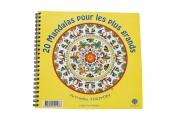 20 Mandalas pour les plus grands – Coloriage - Imprimé en France sur papier recyclé