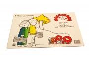 Cahier de coloriage Philippe et Claudine sauvent la forêt - Papier recyclé