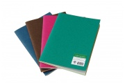 Cahier Bicolore – 96 pages vierges - Fabriqué en France en papier recyclé