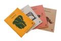 Assortiment de 4 Cahiers d'écolier - Cahiers en papier recyclé