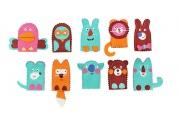 Marionnettes à doigts - Animaux