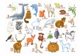 Puzzle en bois L'Alphabet des animaux - Puzzle 12 pièces