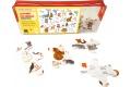 Puzzle en bois L'Alphabet des animaux - Puzzle en bois Made in France - 12 pièces