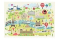 Puzzle en bois Paris illustre - 24 pièces - Puzzle Made in France