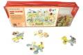 Puzzle en bois Paris illustre - Puzzle 24 pièces - Fabriqué en France