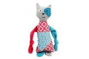 Doudou chat Petit Elmut - Doudou rigolo Made in France