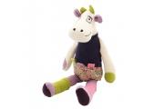 Doudou Lili La Vache - Doudou fabriqué en France - On chuchote à mon oreille
