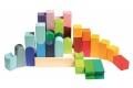 Cube Couleurville - Set de construction - Jouet Grimm's