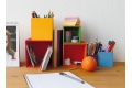 Cubes à emboîter multicolores - Jouet Grimm's utile - Aménagement bureau