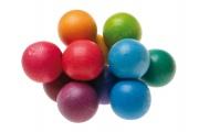 Hochet Perles multicolores Grimm's - Hochet en bois Grimm's