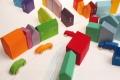 Blocs de construction 15 Maisons en bois - Construire sa ville en bois - Grimm's