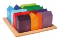 Blocs de construction 15 Maisons en bois - Cubes Maisons Grimm's