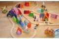 Blocs de construction 15 Maisons Grimm's - Construire sa ville imaginaire - Cubes Grimm's