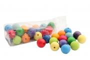 36 Perles en bois (30 mm) - Grandes perles en bois Grimm's