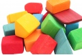 Blocs de construction Grimm's - Grands cubes en bois - Idée cadeau 1 an