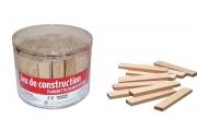 Planchettes en bois - Jeu de construction en bois non teint - Fabriqué dans le Jura