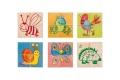 Puzzle cubes Pépito - Puzzle cubes en bois - A partir de 2 ans