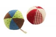 Hochet Ballon Bio - Hochet en coton bio - Fabriqué en Allemagne par Efie