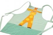 Tablier Girafe - Tablier en coton pour enfant
