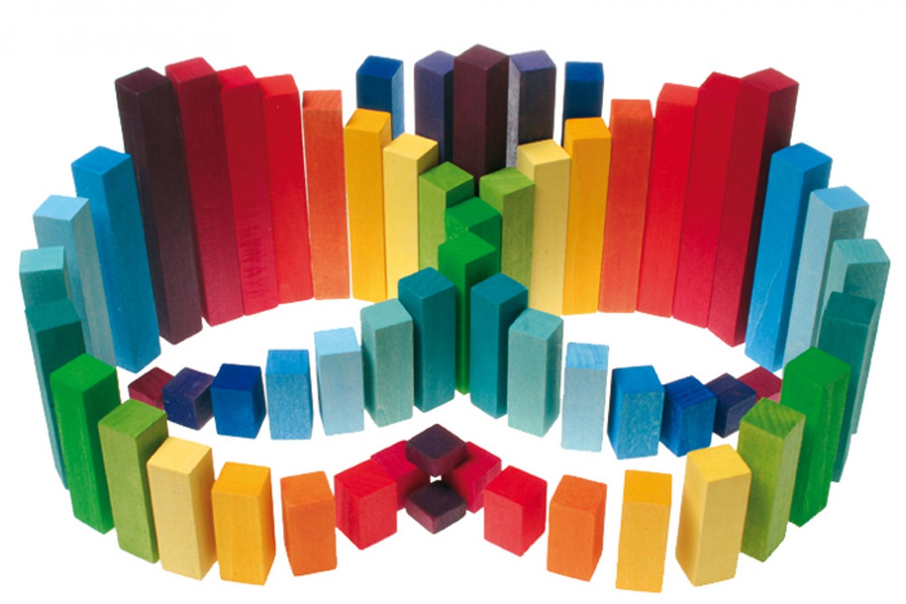 Jeu de construction grimm 39 s jeu de construction carr b tons 60 cubes - Video de jeux de construction ...