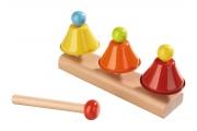 Jeu de clochettes musicales HABA - Mon premier instrument de musique - Instrument de musique pour enfants HABA
