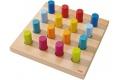 Anneaux multicolores HABA - Jeu libre - Jouet en bois à partir de 2 ans- Fabriqué en Allemagne