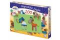 Puzzle magnétique Les Animaux - 44 pièces aimantées de formes et de couleurs variées - Puzzle en bois